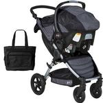 BOB - Motion Travel System and Diaper Bag - Black