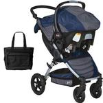 BOB - Motion Travel System and Diaper Bag - Navy