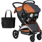 BOB - Motion Travel System and Diaper Bag - Orange
