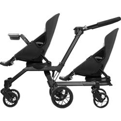 Orbit Baby - Double Helix Stroller with 2 G3 Stroller Seats - Black