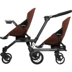 Orbit Baby - Double Helix Stroller with 2 G3 Stroller Seats - Mocha / Khaki