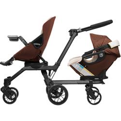 Orbit Baby - Double Helix Stroller with G3 Stroller Seat and G3 Car Seat - Mocha / Khaki