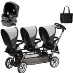 Peg Perego - Triplette SW Travel System with 1 Seat and a Diaper Bag - Atmosphere