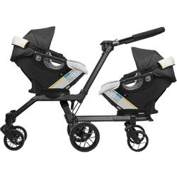 Orbit Baby - Double Helix Stroller with 2 G3 Car Seats - Black