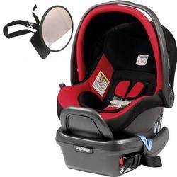 Peg Perego - Primo Viaggio 4-35 Car Seat w/ Back Seat Mirror - Flamenco