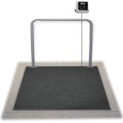 Rice Lake SD-1150-WP In Ground Dialysis Wheelchair Scale, 1000 x 0.2 lb