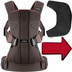 Baby Bjorn - Baby Carrier One with Bib and LED Light - Brown