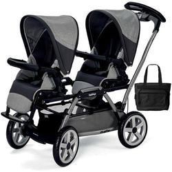 Peg Perego - Duette SW Stroller with Diaper Bag  - Atmosphere