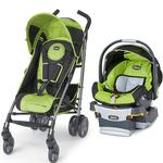 Chicco  - Liteway Plus Stroller Travel System with Car Seat - Surge