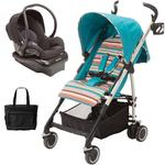 Maxi-Cosi - Kaia Travel System With Diaper Bag - Bohemian Blue/Black