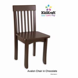Kidkraft 16633 Avalon Chair - Chocolate