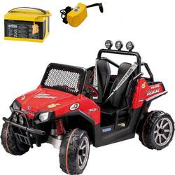 Peg Perego - Polaris Ranger RZR with additional Battery and Charger - Red