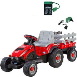 Peg Perego - Case IH Lil Tractor /Trailer with additional Battery and Charger