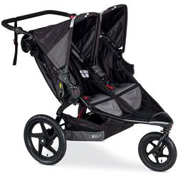 BOB ST1411 - Revolution FLEX Duallie Double Stroller - Black/Black