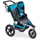 BOB - Revolution FLEX Stroller with Bag - Lagoon/Silver