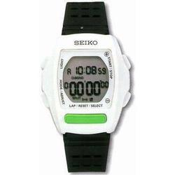 Seiko W562 LifeSports Runners StopWatch, White