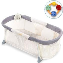 Summer Infant - Deluxe By Your Side Sleeper with Teether (Circle Geo)