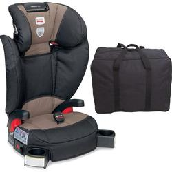 Britax - Parkway SGL - Booster Seat with a car seat Travel Bag - Desert Palm