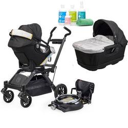 Orbit Baby Infant Travel Collection - G3 Bassinet and Car Seat with Spa Kit - Black
