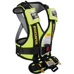 Safe Traffic Systems JD14100YWB - Ride Safer 2 Travel Vest, Small - Yellow
