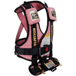 Safe Traffic Systems JD14200PWB - Ride Safer 2 Travel Vest, Large - Pink