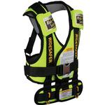 Safe Traffic Systems JD15100YWB - Ride Safer 3 Travel Vest, Small - Yellow