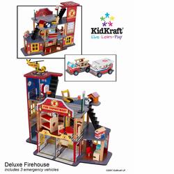 KidKraft 63214 Deluxe Fire Rescue Set