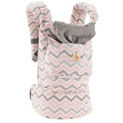Ergo Baby BCCHEVRONNL - Original Collection Baby Carrier - Chevron Pink/Grey