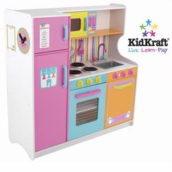 Kidkraft 53100 Deluxe Big & Bright Kitchen