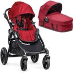 Baby Jogger - City Select Stroller with Bassinet - Red