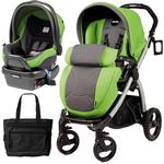 Peg Perego - Book Plus Stroller Travel System with a Diaper Bag - Mentha