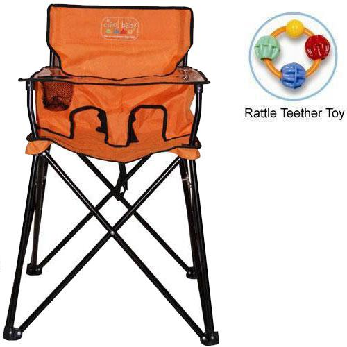 Ciao Baby ciao  baby - Portable High Chair with Rattle Teether Toy - Orange at Sears.com