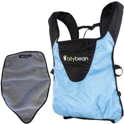 Bitybean - UltraCompact Baby Carrier with Fleece Liner - Sky Blue