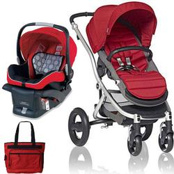 Britax Affinity Travel System With Bag Red Silver Coupons And Discounts May Be Available