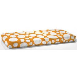 Nook Sleep Systems FIT-BED-POP Fitted Crib Sheet in Riverbed Poppy (Bright Orange)