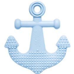 Mayapple Baby 1203 - Anchor Single Light Blue Teething Toy