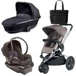 Quinny Buzz Xtra Travel System with Bag - Grey/Black