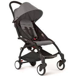 BabyZen - YOYO 6+ Months Stroller - Black with Grey