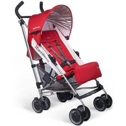 UPPAbaby 0180-DNY - G-LUXE  Stroller - Denny (Red/Silver)