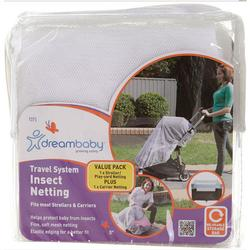 Dreambaby L275 - Travel System Insect Netting for Strollers and Play Yards