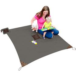 Monkey Mat - A Clean Surface You Can Take Everywhere! - Gray Groove