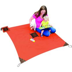 Monkey Mat - A Clean Surface You Can Take Everywhere! - Orange Sunrise