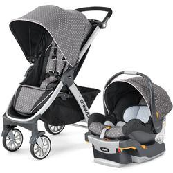 Chicco 04079095670070 Bravo Stroller Trio System Lilla