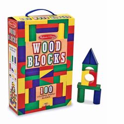Melissa and Doug 100 Wood Blocks Set (0481)