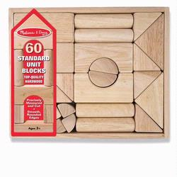Melissa and Doug Standard Unit Blocks (0503)