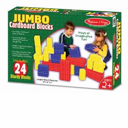 Melissa and Doug Jumbo Cardboard Blocks (24 pc) (2783)