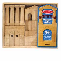 Melissa and Doug Architectural Unit Blocks (4201)