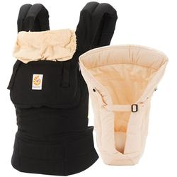 Ergo Baby - Bundle Of Joy Original Carrier and Insert - Black/Camel