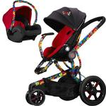 Quinny - Britto Moodd Stroller Travel System with Car Seat - Red