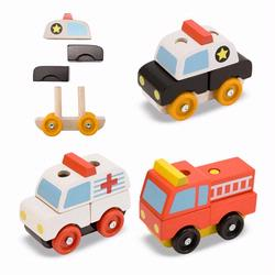 Melissa and Doug Stacking Emergency Vehicles (3075)